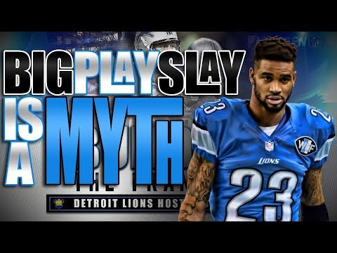 Detroit Lions | BIG PLAY SLAY IS A MYTH!!! | Building The Franchise