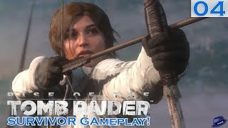 ULTRA STEALTH - Part 04 - Rise of the Tomb Raider Survivor Gameplay - Let