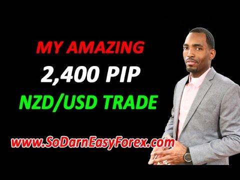 AMAZING 2,400 Pip Trade On NZDUSD - So Darn Easy Forex