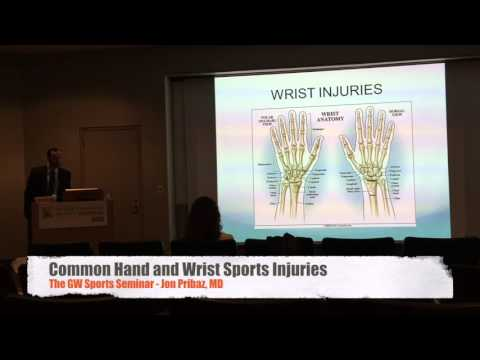 Common Hand and Wrist Sports Injuries