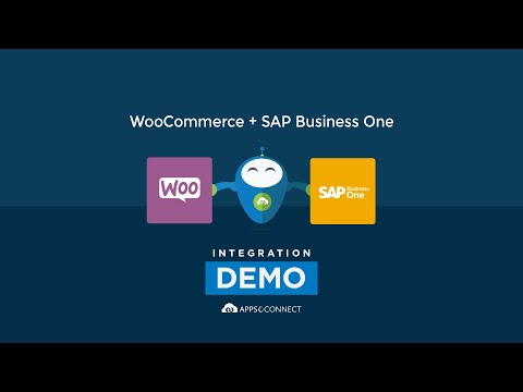 Integrate SAP Business One and WooCommerce | APPSeCONNECT