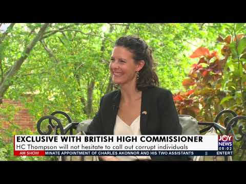 Exclusive with British High Commission - AM Show on Joy News (14-9-21)