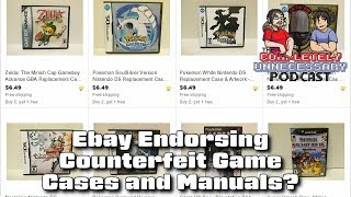 Ebay Encouraging Counterfeit Game Cases & Boxes? #CUPodcast