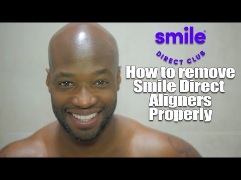 How to properly remove your Smile Direct Club Aligners