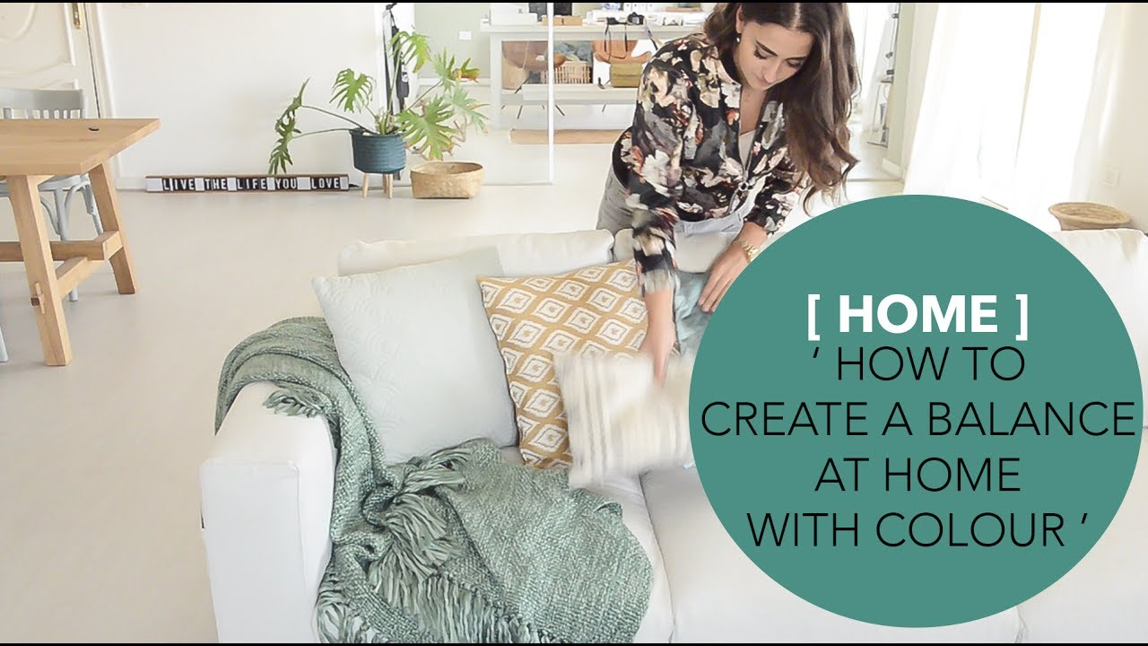 Video How To Create A Balance At Home With Colour Binti