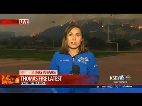 Westmont College evacuations brings back memories of Tea Fire