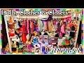 Barbie Doll CLOTHES CLOSET Heaven ~ Dream Dollhouse Wardrobe Tour & 1:6 Dolls Collection w/ Airplane