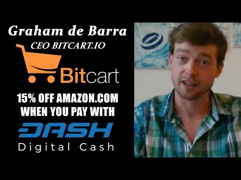 Dash Force News Interview with Graham de Barra CEO of Bitcart.io