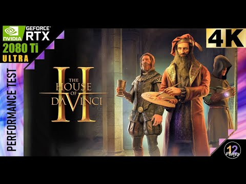 The House of Da Vinci 2 [PC-GAMEPLAY RTX-2080-TI 4K-ULTRA] |
