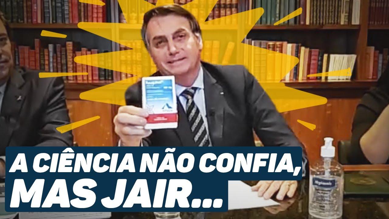 Bolsonaro testa positivo para o novo coronavírus e faz propaganda ...