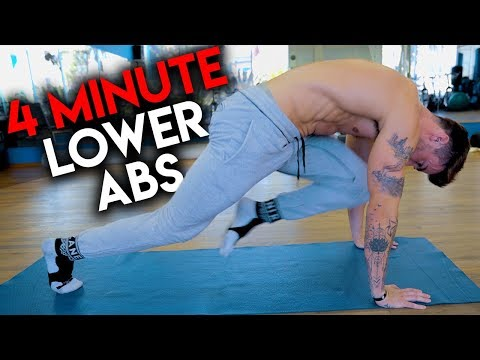 4 Minute Lower Ab Workout