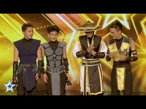 ADEM Dance Crew's Golden Buzzer Audition | Asia's Got Talent 2017
