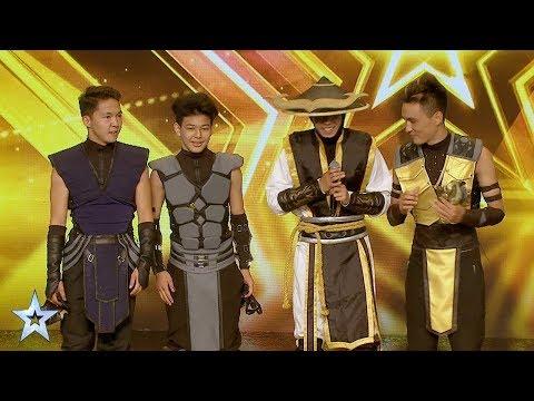 ADEM Dance Crew's Golden Buzzer Audition  Asia's Got Talent 2017