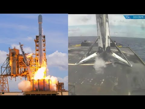 SpaceX Falcon 9 BulgariaSat-1 launch & landing, 23 June ...