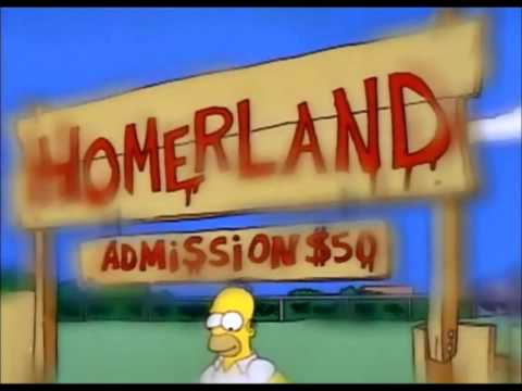 The Simpsons S05E07 Bart's Inner Child  - Trampoline