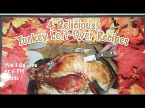 What To Do With Turkey Leftovers/Turkey Leftover Recipes/Turkey Leftover Ideas (2017)
