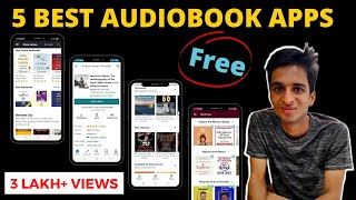 5 Best Audiobook Apps for android and IOS | Audiobook free and paid screenshot 4