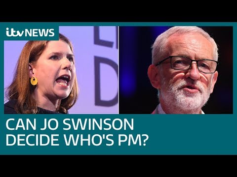 'It's not up to Jo Swinson to decide who is PM,' Corbyn says | ITV News