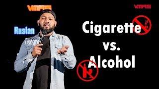 Download Cigarette vs. Alcohol || Sajan Shrestha || Mic Drop Mp3 and Videos