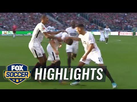 Hannover 96 vs. Eintracht Frankfurt | 2017-18 Bundesliga Highlights
