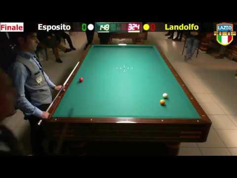 Esposito vs Landolfo - Finale Gara Interregionale 1/2/3 Cat. CSB President Frosinone - 18/22Gen2017
