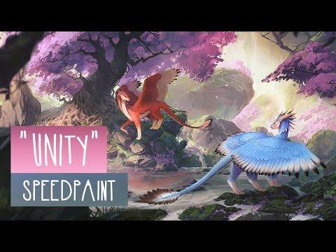 Unity | SPEEDPAINT | Photoshop CC