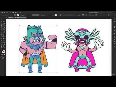 Creación de Personajes con Ilustración Creativa