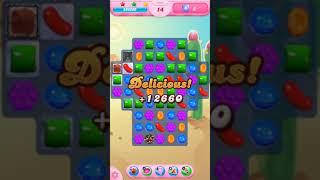 Candy Crush Saga Level 1555 - No Boosters