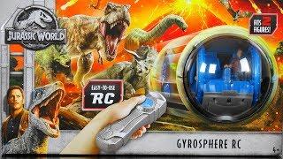 JURASSIC WORLD PLAY SETS Gyrosphere RC Carnotaurus Triceratops Styg...