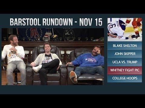 Barstool Rundown - November 15, 2017