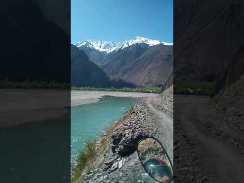 Giant route lead to khuzh , khuzh is a beautiful village in Mastuj upper chitral .