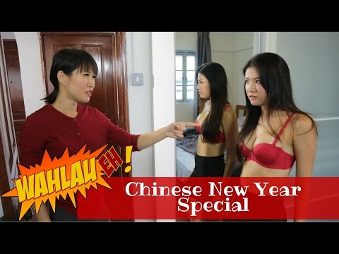 Things that happen during Chinese New Year | WahLau Eh! #23 | Happy TV