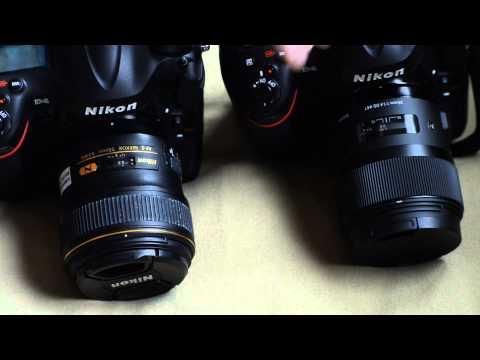 Nikon 35mm 1.4 AF-S G vs Sigma 35mm 1.4 Art - Focusing Speed