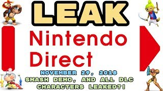 Super Smash Bros Ultimate DLC Leak