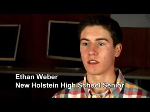 Ethan Weber Student Profile New Holstein Middle School