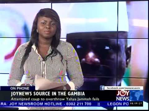 Gambia in Turmoil - Today's Big Story on Joy News (30-12-14)