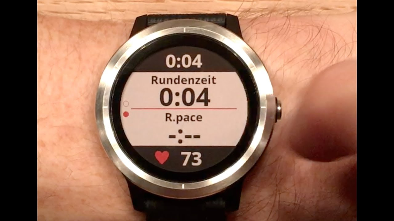 Garmin Vivoactive 3 Interface (Deutsch)