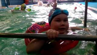 Открытый урок в бассейне 20 апреля 2016