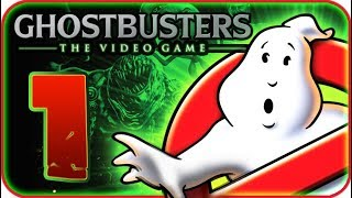 Ghostbusters: The Video Game Walkthrough Part 1 (PS3, X360, Wii, PS2) No Commentary