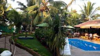 Территория отеля  Santana Beach Resort 3* ( Северный Гоа, Индия ) и выход к морю(Северный Гоа 14 декабря 2015 года., 2015-12-18T08:15:38.000Z)