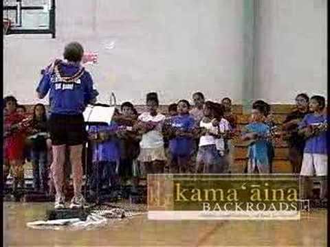 Ukulele at Keaukaha Elementary School