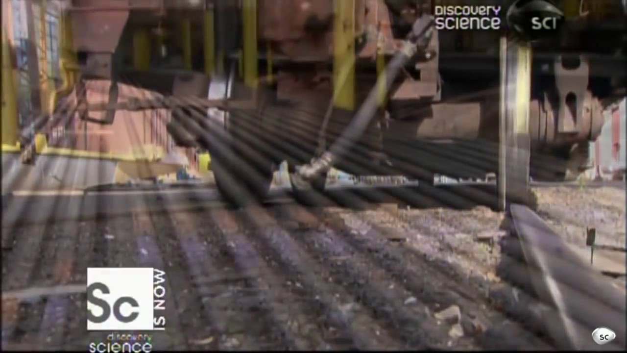 How Its Made : Rail Tracks By Discovery Science Channel Hindi Video