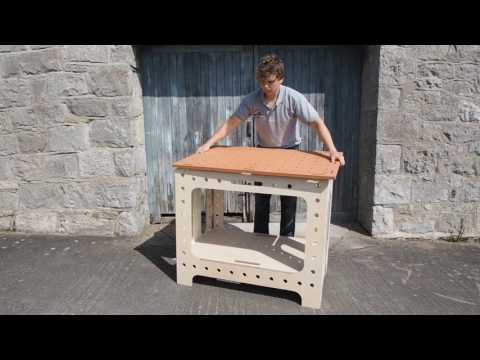 Portable Folding Workbench - Versatable - Woodworkers Bench