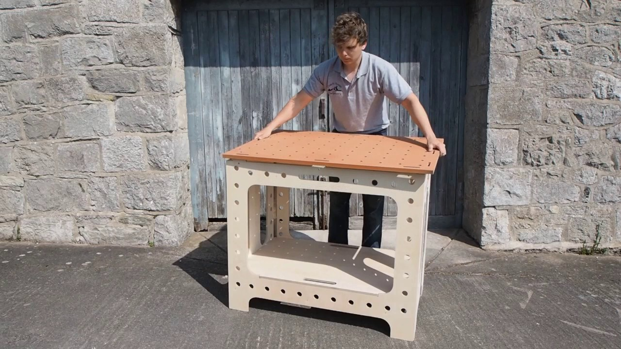 Portable Folding Workbench - Versatable - Woodworkers ...