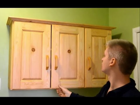 Simple Wooden Three Door Cabinet Youtube