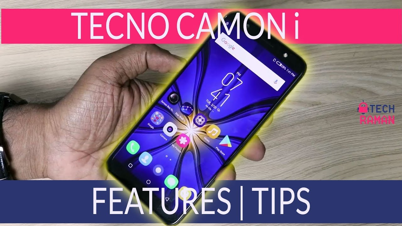 Tecno Camon i Features, Tips and Tricks