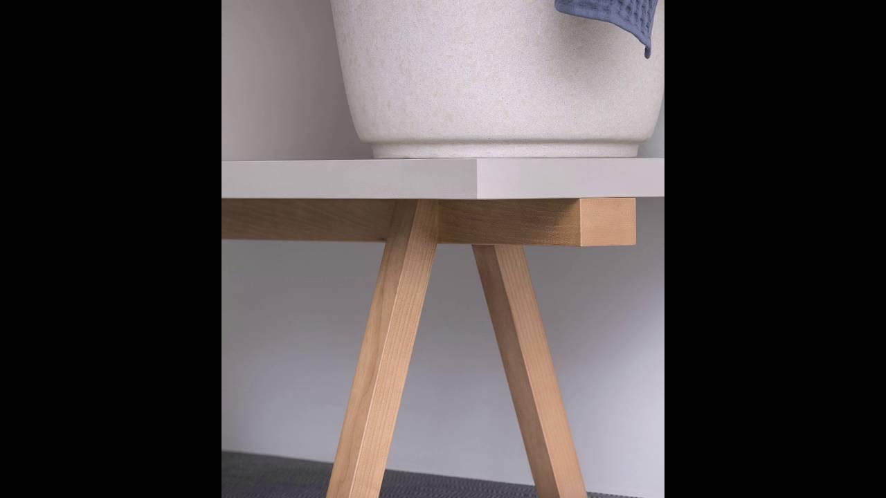 Holzbank Badezimmer | Stilvolle Badezimmer Holzbank Von Rex Entwurf Youtube