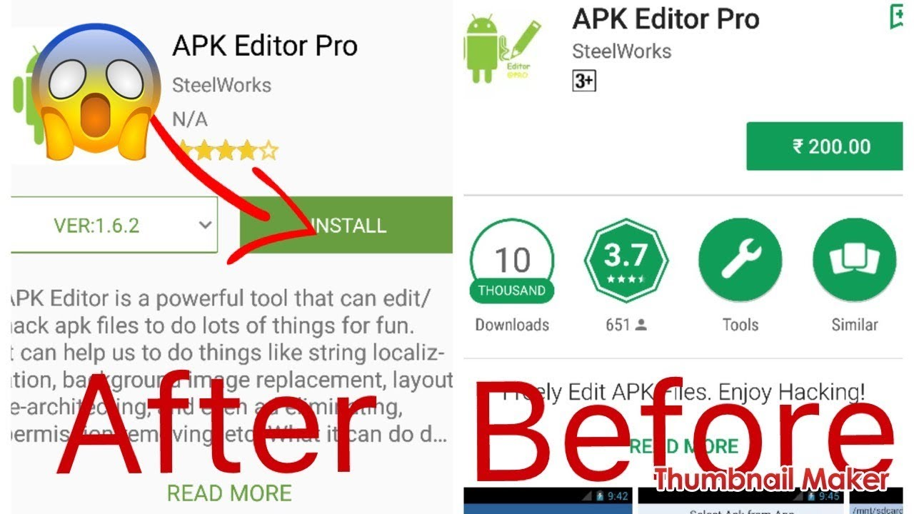 apk editor pro steelworks free download