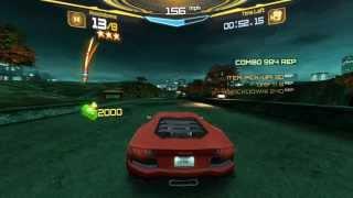 Asphalt 7: Heat - Career Race 48 - Xbox on Windows 8.1 PC