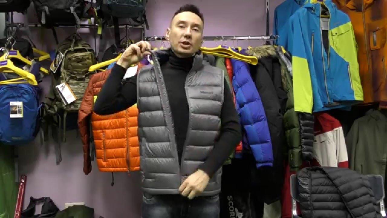 Утепленный жилет от модного итальянского бренда мужской одежды .